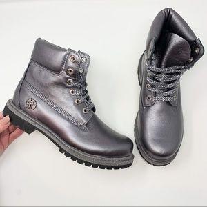 "Timberland Metallic 6"" Premium Leather Ankle Boot"